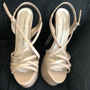 Chinese Laundry Shoes - Nude Chinese Laundry Tippy tops